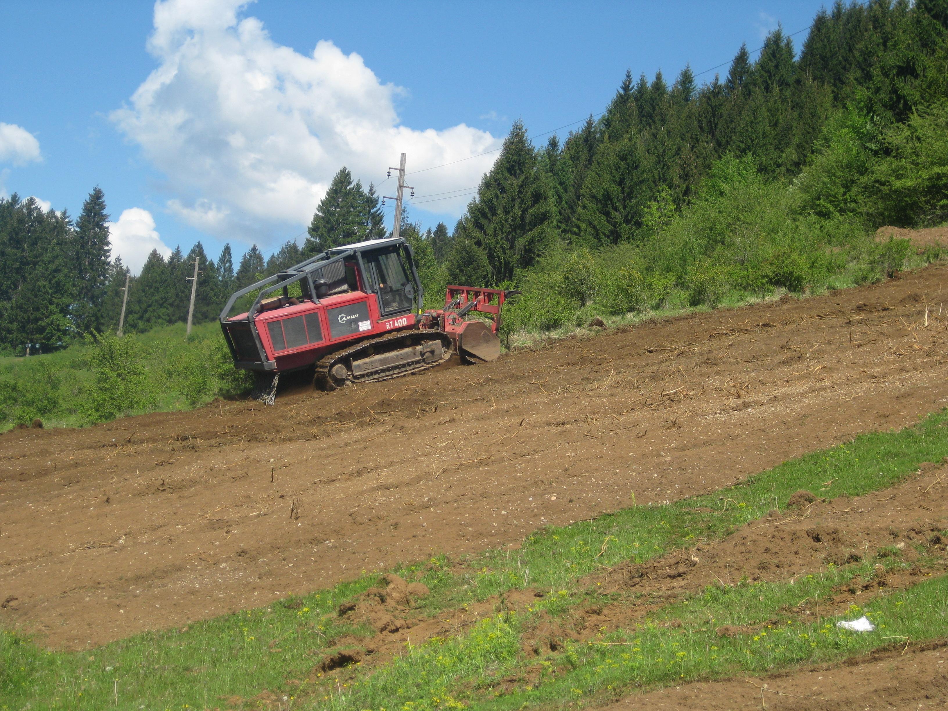 Mulčer za motokultivator ali traktor